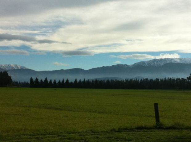 Mount Cook to Christchurch views