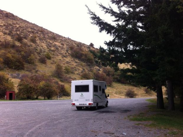 Campervan trip Christchurch to Greymouth