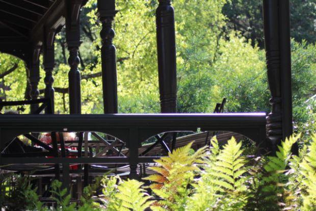 Beringer Vineyards porch