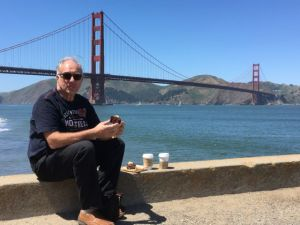 Golden Gate Bridge picnic