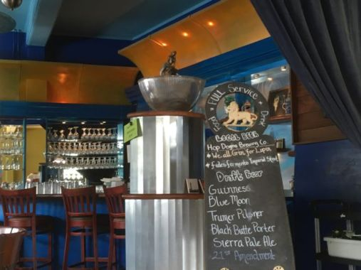 Pescadero Country Store bar