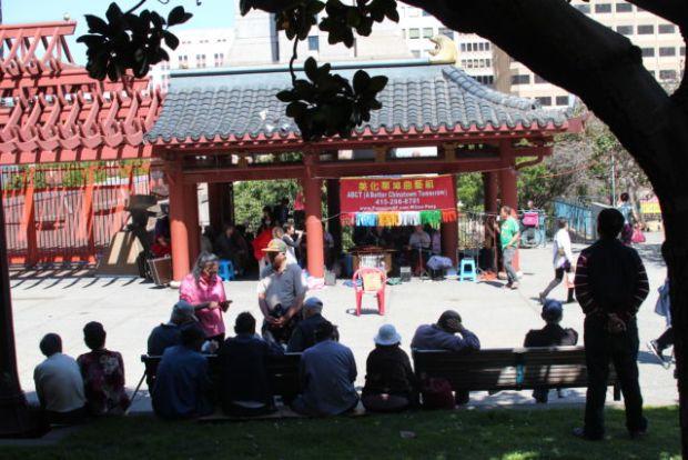 San Francisco sightseeing: Chinatown Sunday