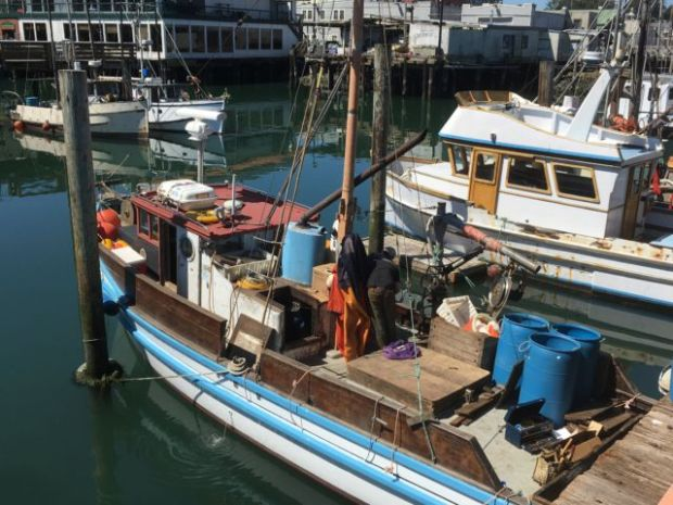 San Francisco Fisherman's Wharf fishing boats