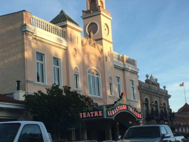 Sebastiani Theatre in the historic Sonoma