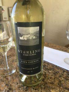 Sterling Winery sauvignon blanc