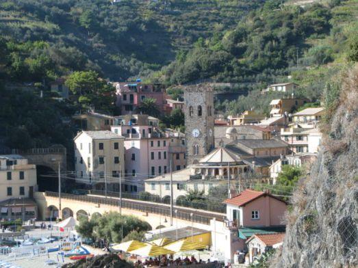 Monterosso village center