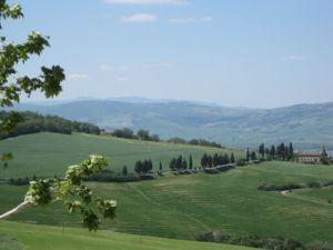 Monticchiello hill view