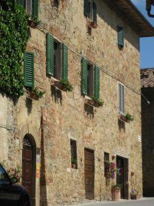 Monticchiello street