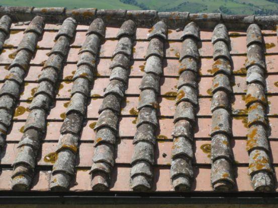 Pienza roof