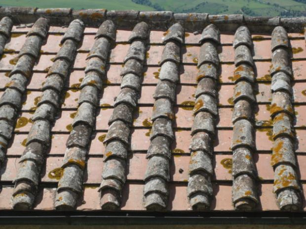 A Pienza roof