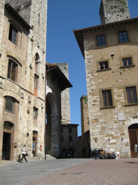 Tuscany Scenic Drive San Gimignano street view