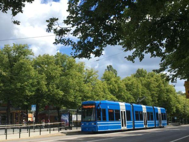 Djurgården tram, Stockholm