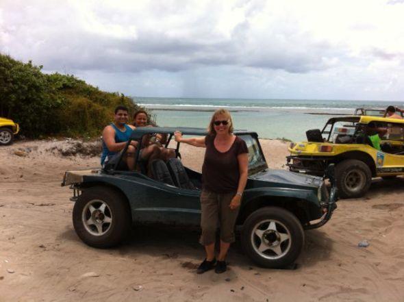 Porto de Galinhas beach buggy