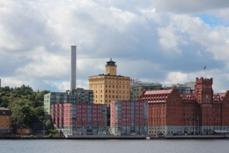 Stockholm Nacka from Djurgården