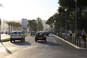 Driving in Nice