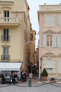Monaco-Ville narrow street