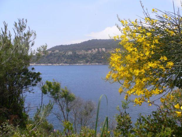 Walk around Cap-Ferrat, Villefrance on the other side