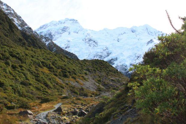 Track to Mueller Lake Aoraki Mount Cook