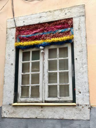 Bairro Alto window Lisbon