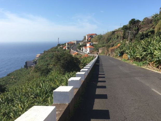 Road trip to Western Madeira, Calheta road