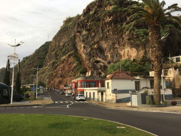 Calheta seacliff view Western Madeira