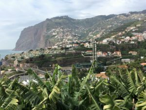 Camara de Lobos and Cabo Girao from Funchal