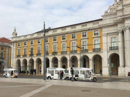 Lisbon tram 15 stop to Belem