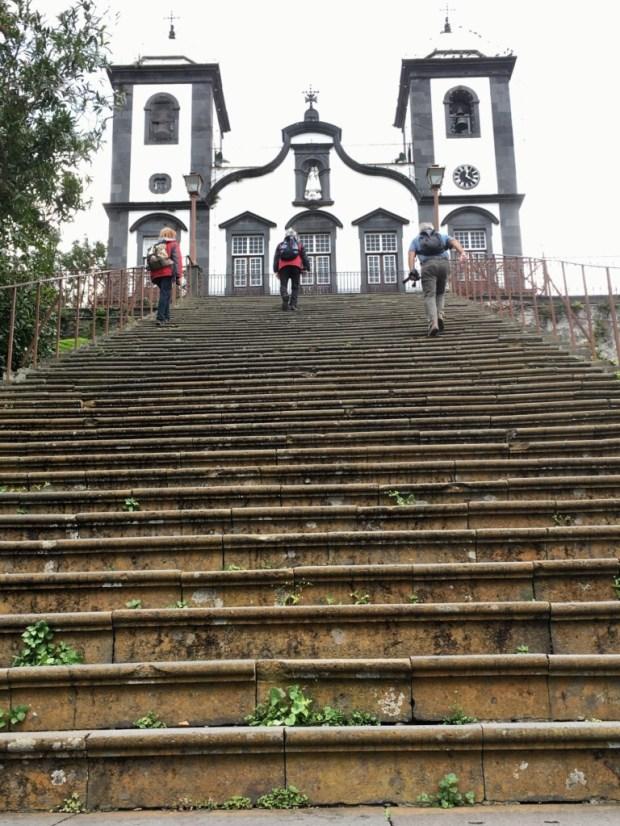Nossa Senhora to Monte, Santana day trip from Funchal