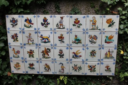 Monte Palace Tropical Garden tiles