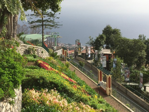 Monte, Madeira; view to bay