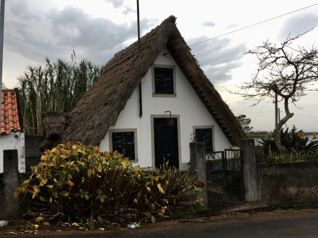 Triangular Santana house