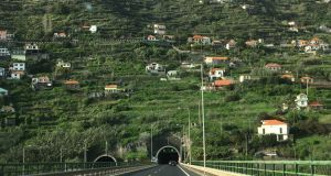 Road Trip to Western Madeira, a tunnel