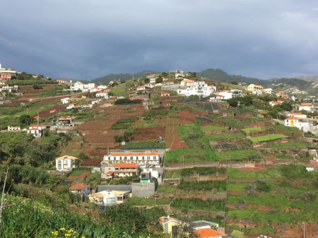 Road Trip to Western Madeira, Cabo Girao hills