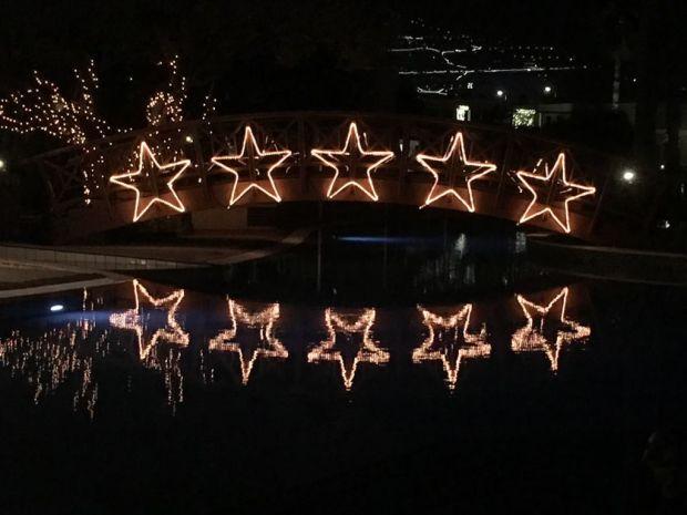Royal Savoy Funchal Christmas lights