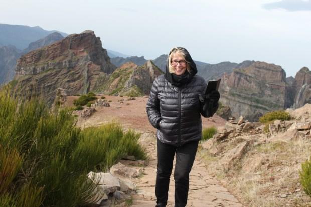 Walking on Pico do Arieiro Madeira