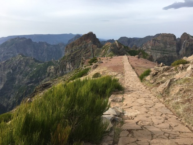 Walking track, Pico do Arieiro , Madeira