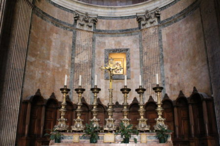 Pantheon interiors, Rome
