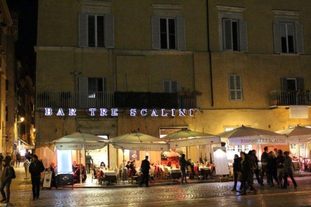 Bar Tre Scalini, Piazza Navona