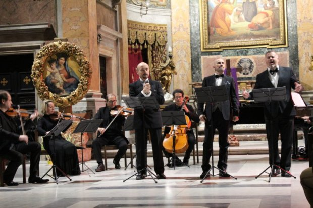 Chiesa del Caravita The three tenors