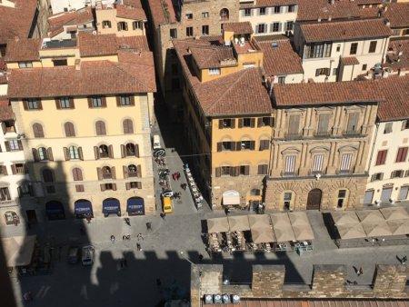 Piazza della Signoria from Palazzo Vecchio