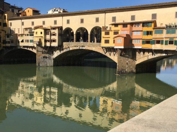 Ponte Vecchio and river Arno