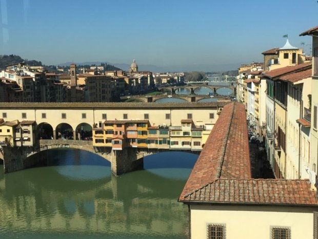 What to see in Florence: Ponte Vecchio and Arno River