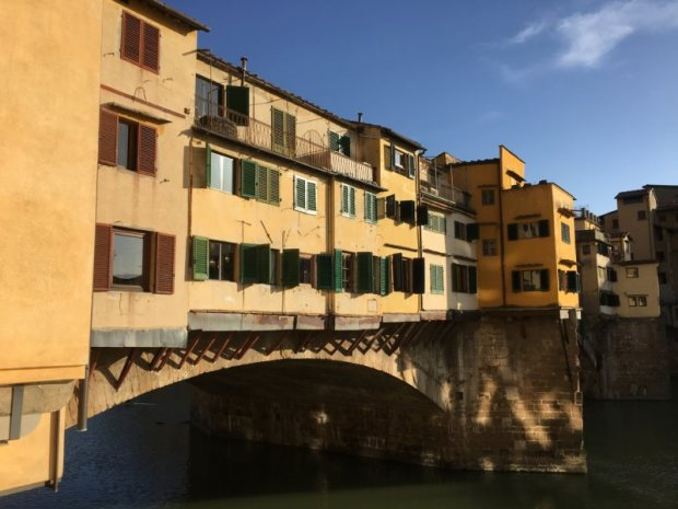 Ponte Vecchio jewellery shops Florence