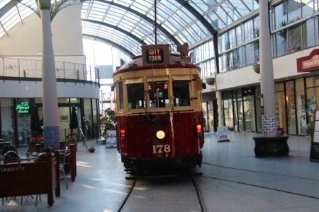 Christchurch City Tour through shopping mall