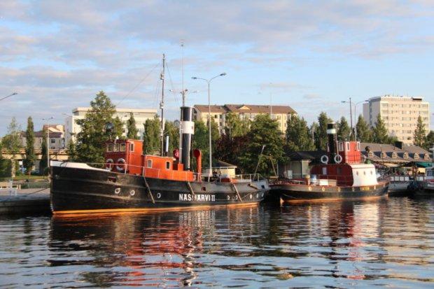 Mustalahti harbor Tampere