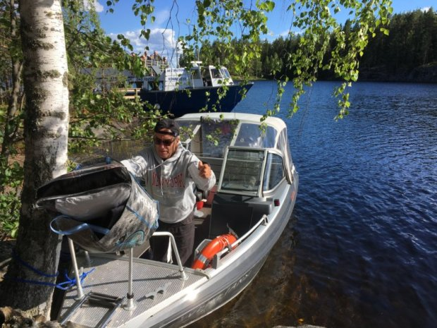 Boat trip to Majaniemi, Southern Konnevesi National Park
