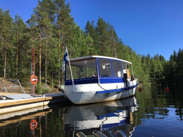 Cruising to Lapinsalo island, Southern Konnevesi National Park