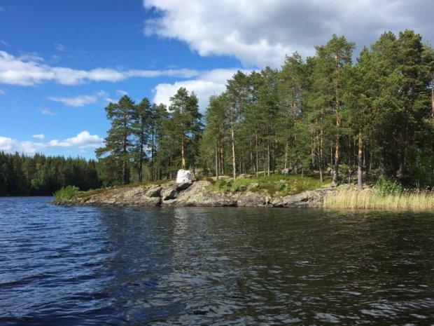 Konnevesi lake view