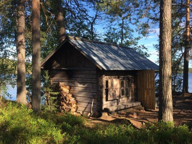 Majaniemi sauna, Southern Konnevesi National Park