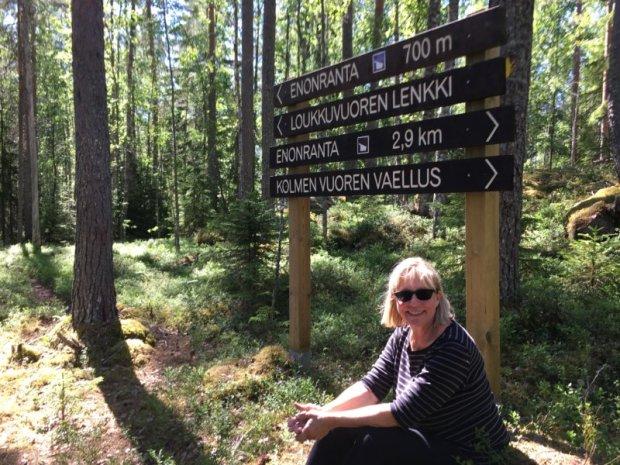 Southern Konnevesi National Park hiking trails